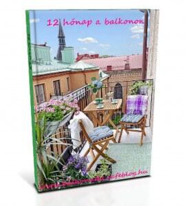 Ingyenes anyagok: 12 hónap a balkonon