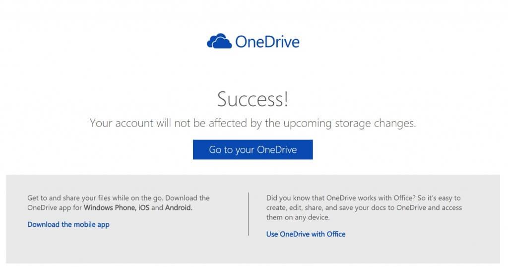 OneDrive-tárhely