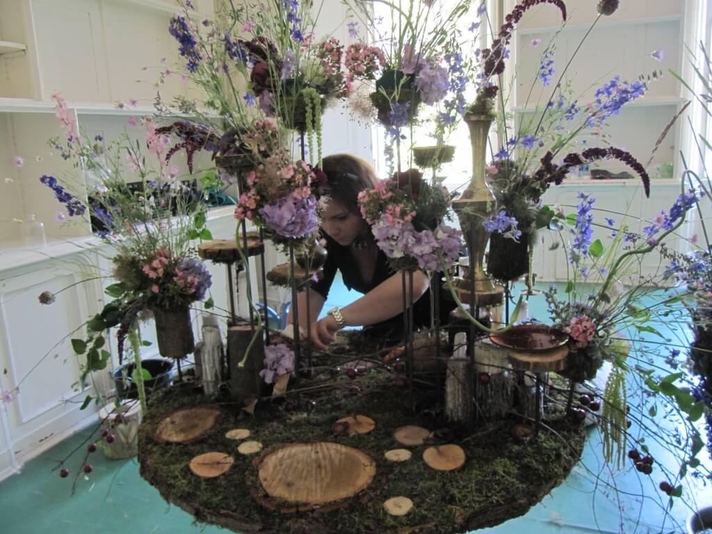 Virágkötészeti Alkotóműhely az esküvő jegyében: Piroska Ágnes