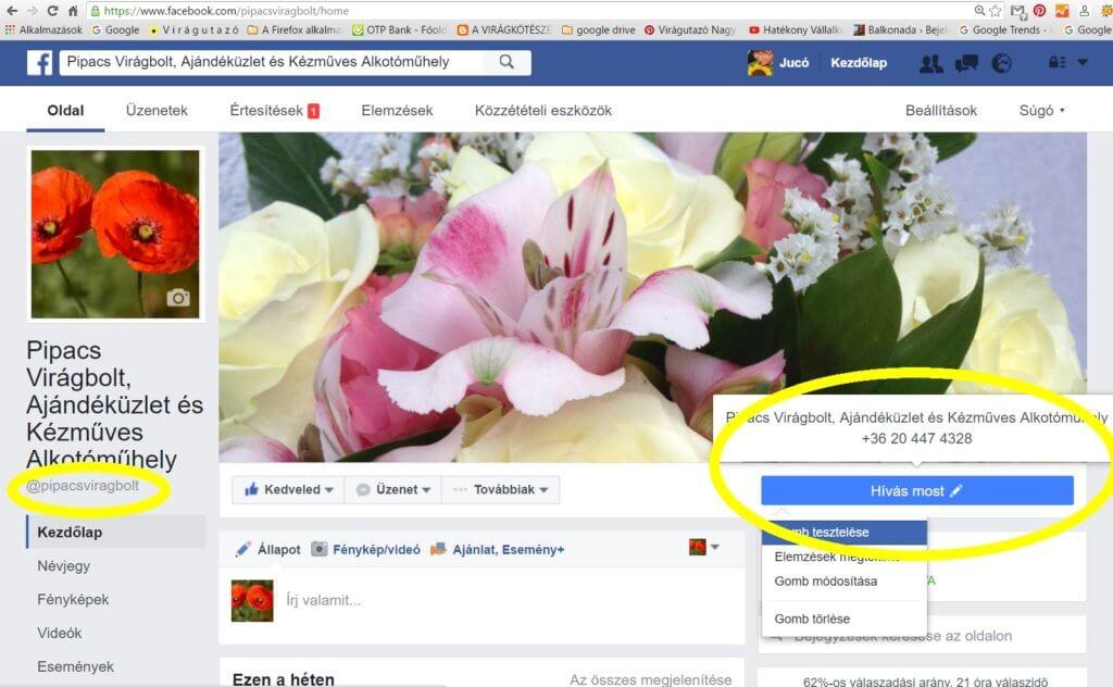Facebook üzleti oldal változások